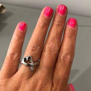 Tiffany & Co Paloma Picasso Heart Ring size 4.5